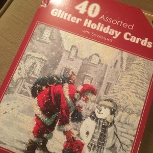 40 assorted holiday cards